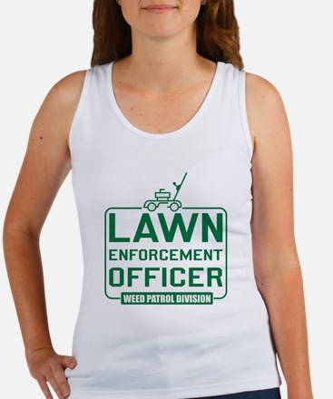 Lawn Enforcement Officer Women's Tank Top