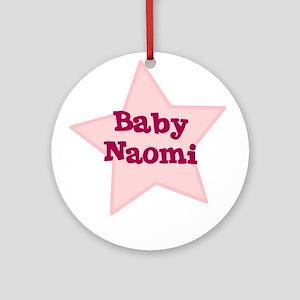 Baby Naomi Ornament (Round)