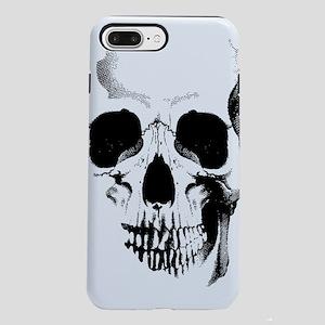 skull-face_bl iPhone 7 Plus Tough Case