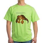"""Save"" Angel Bear Green T-Shirt"