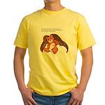 """Save"" Angel Bear Yellow T-Shirt"