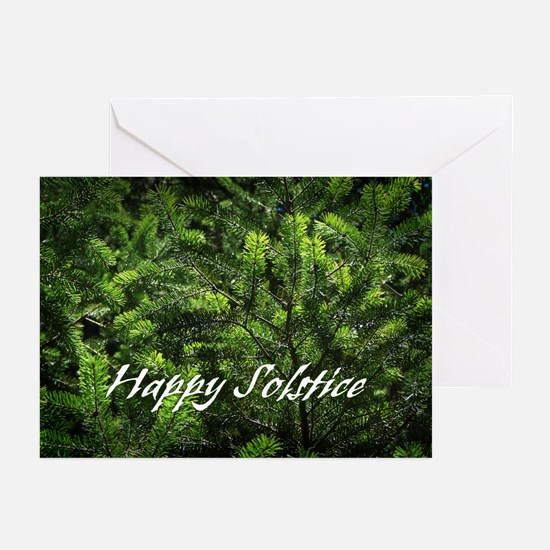 Evergreen Solstice Greeting Cards (Pk of 20)