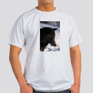 """Wolf Profile"" Light T-Shirt"