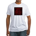 political Fitted T-Shirt