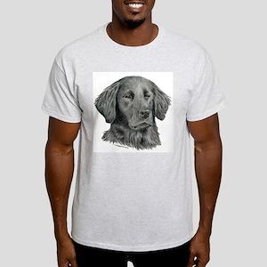 Flat-Coated Retriever Ash Grey T-Shirt