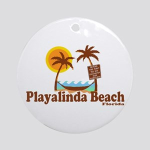 Playalinda Beach FL Ornament (Round)