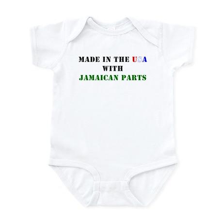Jamaican Parts Infant Bodysuit
