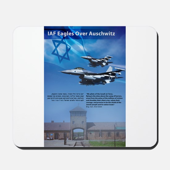 IAF Eagles Over Auschwitz Mousepad