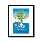 Tu Beshavat Tree Framed Panel Print