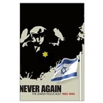 Never Again Large Poster