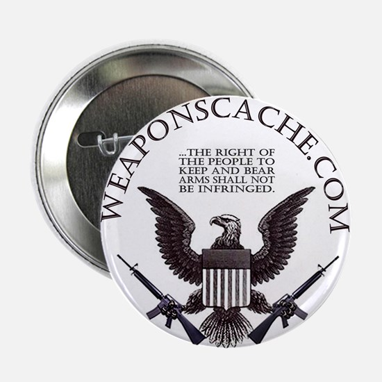 """Weapons Cache 2.25"""" Button (10 pack)"""