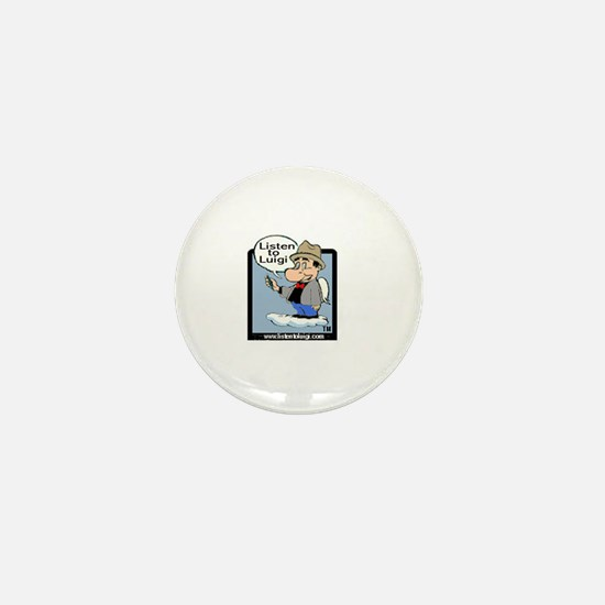 Listen to Luigi Mini Button