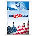 Jer-USA-lem Small Poster