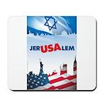 Jer-USA-lem Mousepad