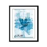 Rabin - Song of Peace Framed Panel Print