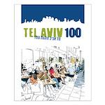 Tel Aviv 100 - City Small Poster