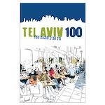 Tel Aviv 100 - City Large Poster