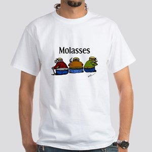 Molasses White T-Shirt
