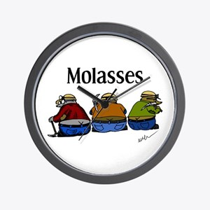 Molasses Wall Clock