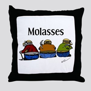Molasses Throw Pillow