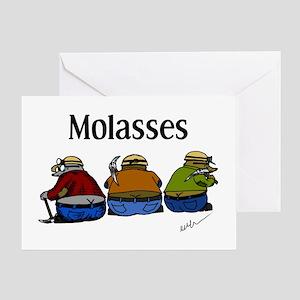 Molasses Greeting Card