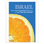 Israeli Orange Small Poster