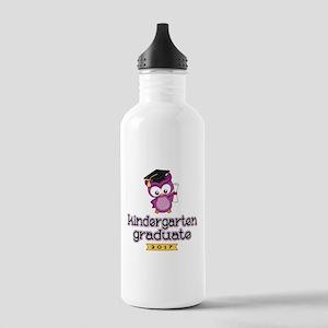Kindergarten Grad 2017 Stainless Water Bottle 1.0L