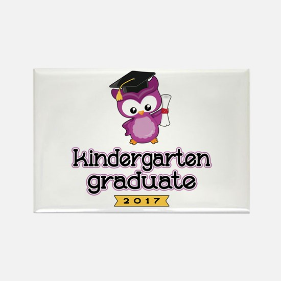 Kindergarten Grad 2017 Rectangle Magnet (100 pack)