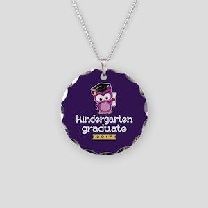 Kindergarten Grad 2017 Necklace Circle Charm