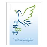 Peace wish Small Poster