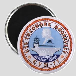 USS Theodore Roosevelt CVN 71 US Navy Ship Magnet