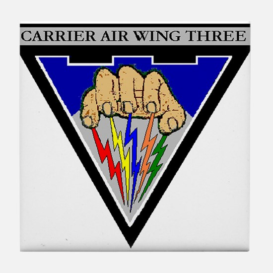 Carrier Air Wing Three CVW-3 US Navy Ships Tile Co