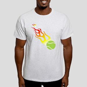 Tennis On Fire! Light T-Shirt