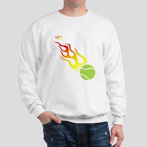 Tennis On Fire! Sweatshirt