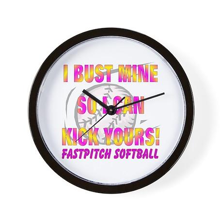 Bust Mine Wall Clock