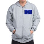 Flag of Europe Zip Hoodie