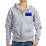 Flag of Europe Women's Zip Hoodie
