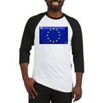 Flag of Europe Baseball Jersey