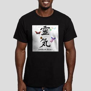 Celebrate Reiki Men's Fitted T-Shirt (dark)