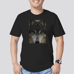 Wolf Eyes: The Mystic Men's Fitted T-Shirt (dark)
