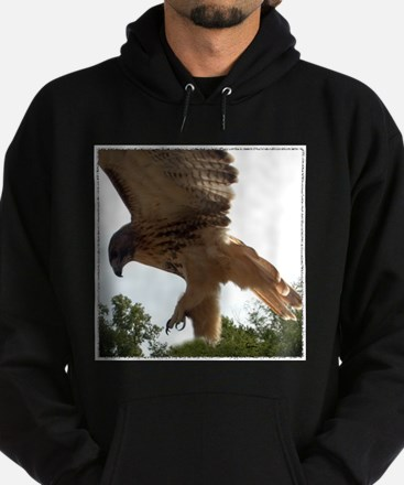 Ostara, Red Tailed Hawk Landi Hoodie (dark)