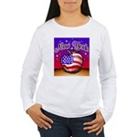 New York Big Apple American F Women's Long Sleeve