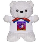 New York Big Apple American F Teddy Bear
