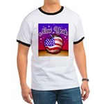 New York Big Apple American F Ringer T