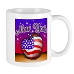 New York Big Apple American F Mug