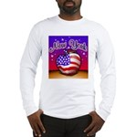 New York Big Apple American F Long Sleeve T-Shirt