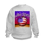 New York Big Apple American F Kids Sweatshirt