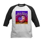 New York Big Apple American F Kids Baseball Jersey