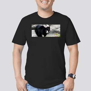 Sloth Bear Men's Fitted T-Shirt (dark)