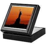 Statue of Liberty Silhouette Keepsake Box